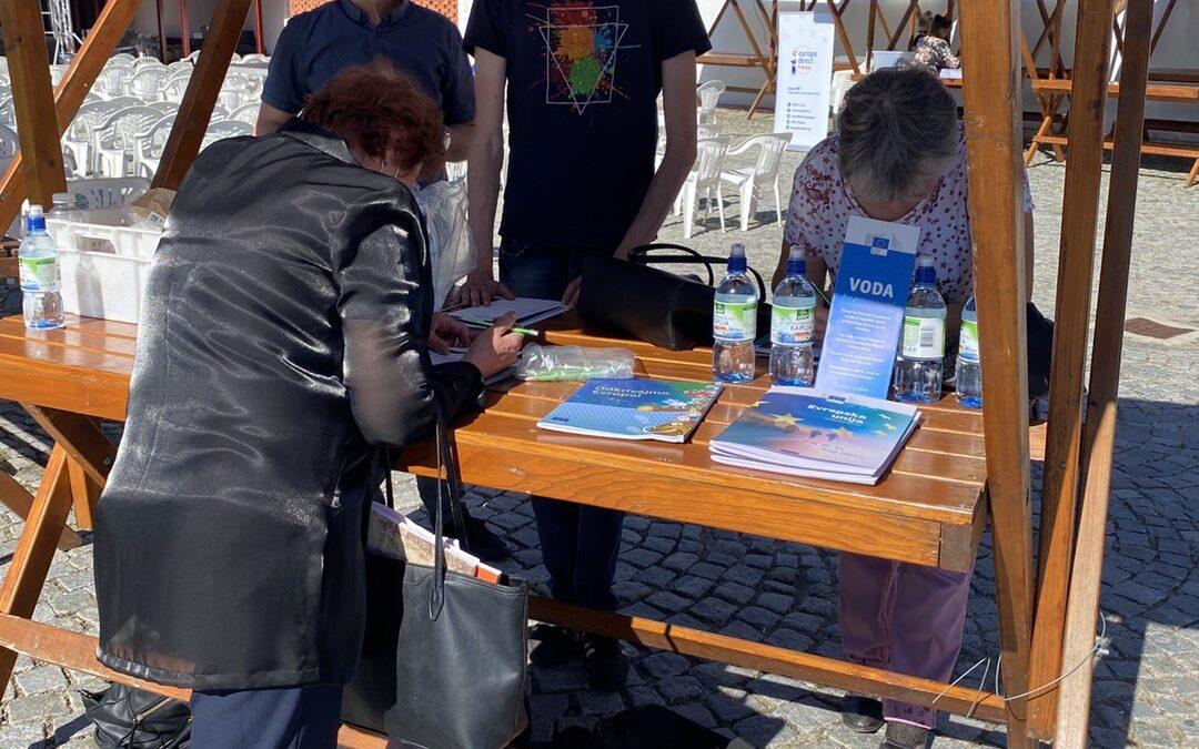 Razstava projekta Evropa na našem pragu v Ormožu